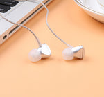 In-ear Earphones Stereo Sport Braided Cord Headset 3.5mm for Android Phone