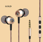 High Quality 3.5mm In-Ear Earphone Stereo Earbuds with Mic For smart phone