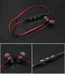 Magnetic Wireless Bluetooth 4.2 TF Card Earphone In-Ear Earbud Headphone Sport