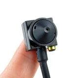 HD 700TVL Mini Audio Pinhole CCTV Camera Home Security Micro Hidden spy UK