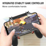 PUBG Mobile Wireless W11+ Gamepad Remote Controller Joystick for iPhone Samsung