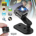 SQ8 SQ10 SQ11 Car Mini DVR Camera HD 1080P Night Vision Video Recorder