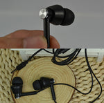 3.5mm In-Ear Wired Earphone Line Control Music Earphones for smart phone