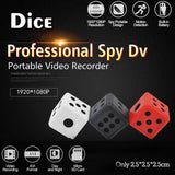 SQ16 1080P Mini Camera Dice Spy Hidden IR CAM Video Recorder Camcorder Recorder
