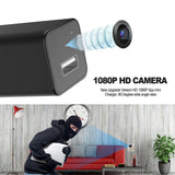 HD 1080P Hidden Camera USB Wall Charger Adapter Video Recorder Home Security AU
