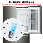 UVC Ultraviolet Germicidal Disinfection Sterilization Light Quartz Lamp Bulb 3W