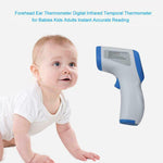 D-6808 LCD Digital Non-contact Infrared Thermometer Forehead Body Temperature