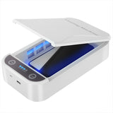 Portable USB Dual UV Lights Sterilizer Cellphone Toothbrush Disinfection Box
