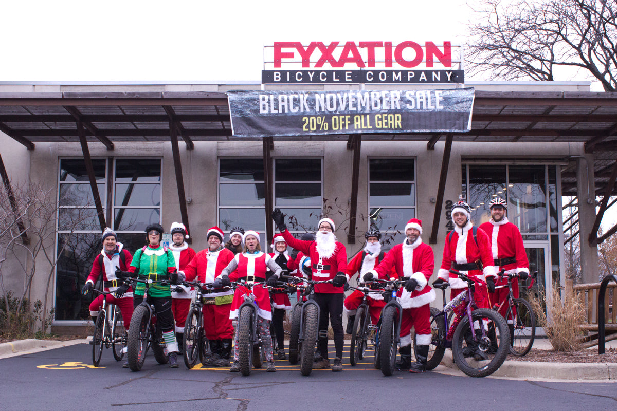 Santa Rampage meetup at Fyation