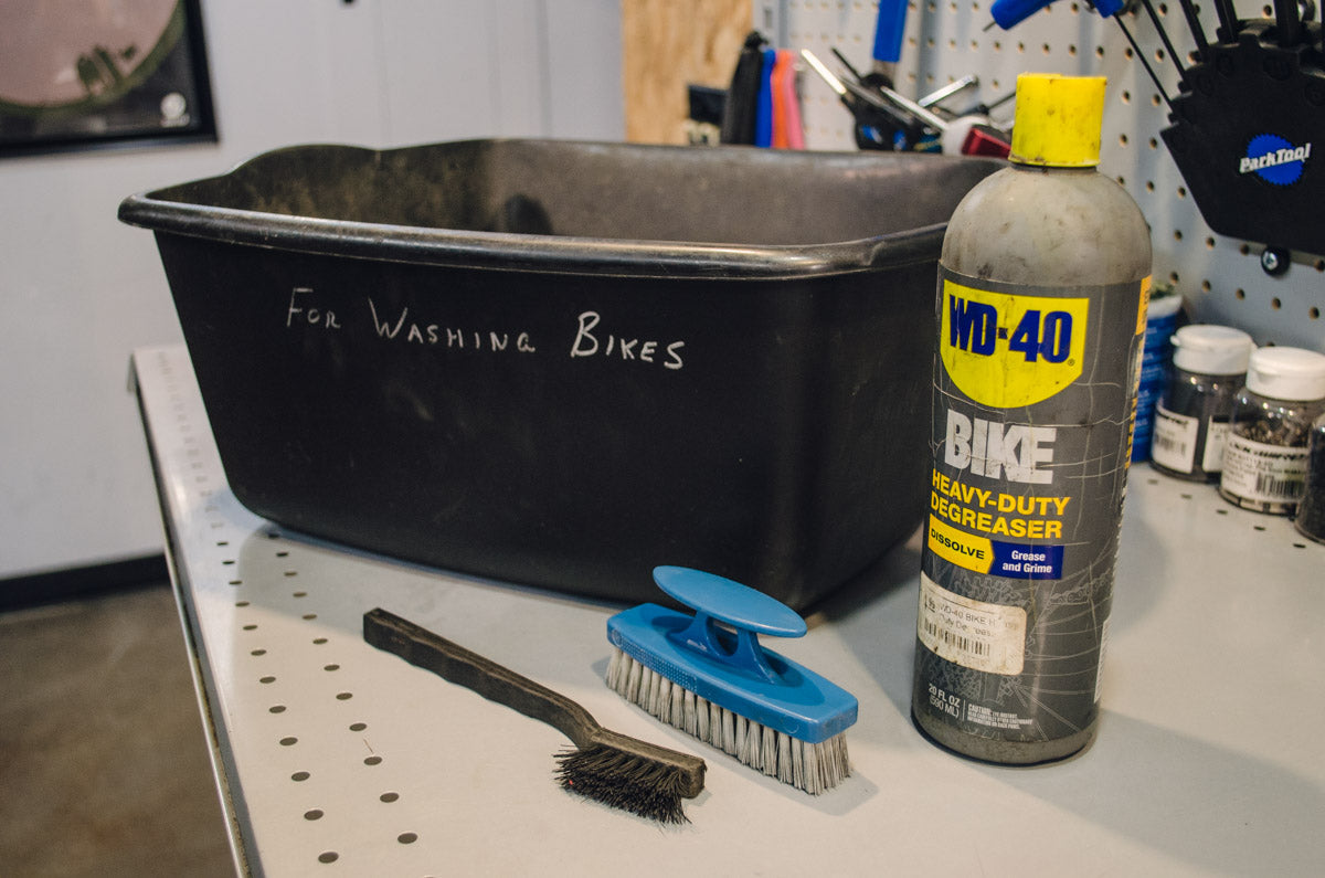 WD40 Foaming Bike Wash