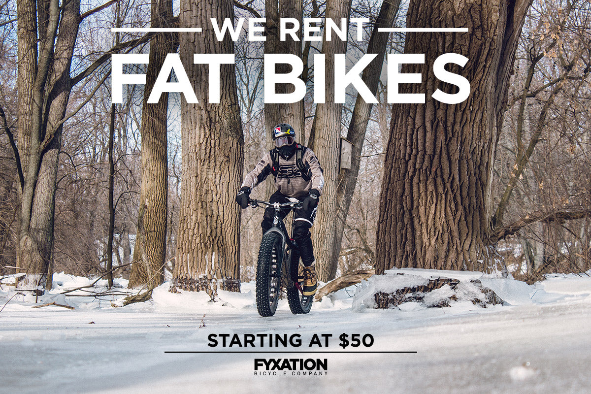 Milwaukee Fat Bike Rentals