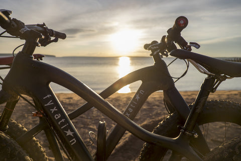Blackhawk Fat Bike Frameset