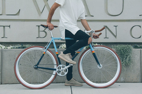 Silver Fixed Gear Rims