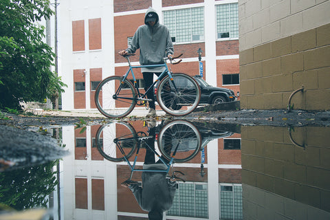 Fixie In The Reflection