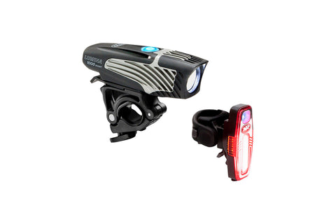NiteRider Lumina USB Light Set - 1000 Boost Front / Sabre 80 Rear