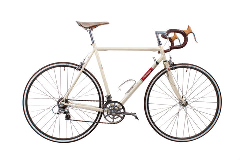Classic Steel Road Bike with Downtube Shifters