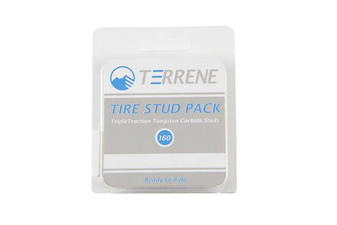 Terrene TripleTraction Tungsten Carbide Stud Kit (160 Studs)