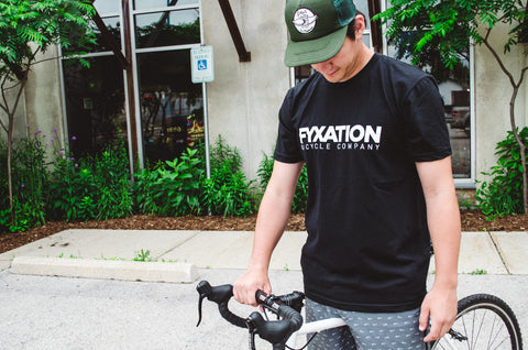 Fyxation Bicycle Company Logo T-Shirt