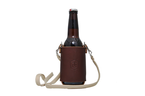 Quickdraw Leather Beverage Holster