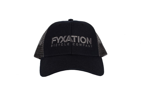 Fyxation Trucker Hat Black Out