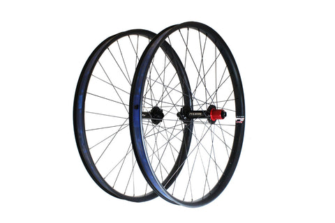 "Fyxation Blackhawk Hubs x Velocity Dually 27.5"" Fat Bike Wheelset"