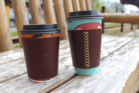 Leather Coffee Sleeve