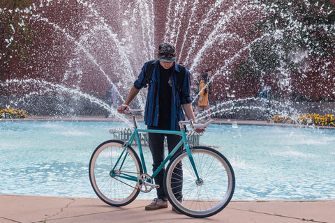 Milwaukee Bicycle Fountain Picture