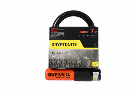 Kryptonite Evolution Mini-5 STD U-Lock: 3.25 x 5.5""