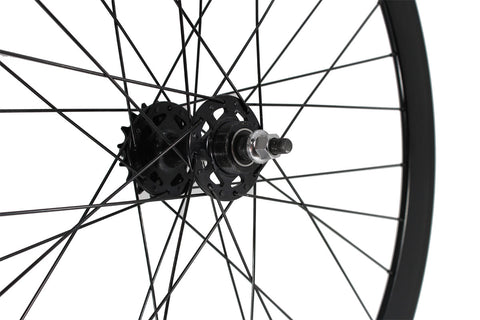 Anodized Black Fixed Gear Wheelset