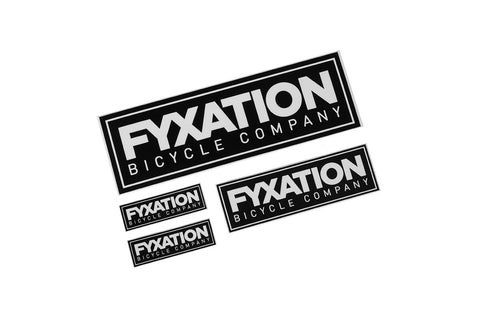 Fyxation Sticker Pack