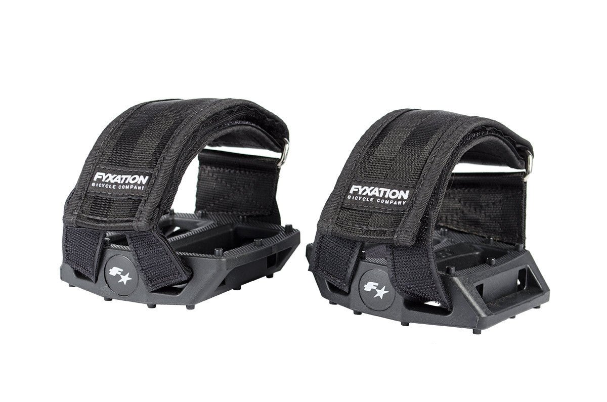 Fyxation Gates Pedal Straps Black