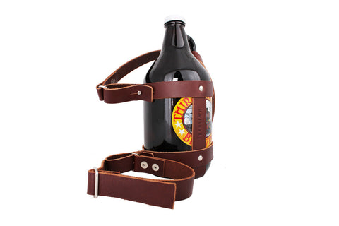 Growler Caddy with Removable Shoulder Strap