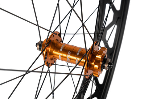 "Hope Fatsno Hubs x Mulefut 80SL 27.5"" Fat Bike Wheelset"