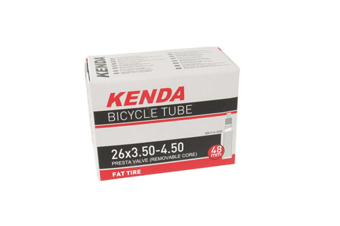 Kenda Presta Valve Fat Bike Tube 26 x 3.5-4.5""