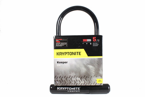 "Kryptonite Keeper 4""x8"" Standard U-Lock"