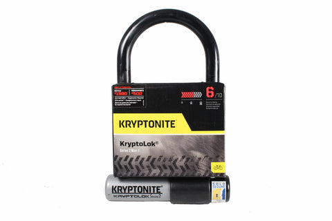 Kryptonite KryptoLok Series 2 Mini-7 U-Lock: 3.25 x 7""