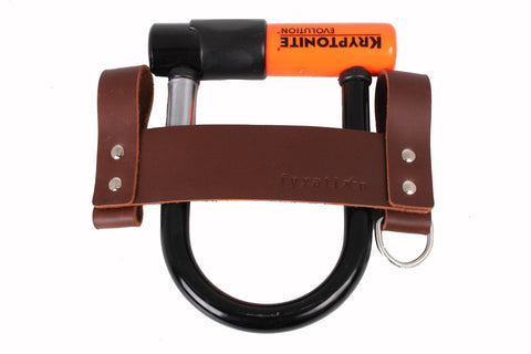Leather U-Lock Holster