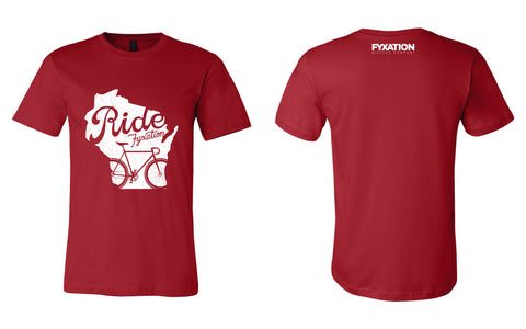 I Ride Wisconsin T-Shirt