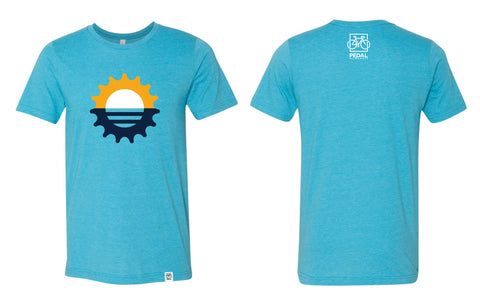 Pedal Milwaukee Flag Cog T- Shirt