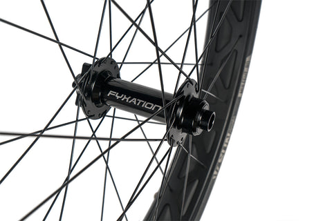 "Fyxation Blackhawk Hubs x  Mulefut V2 26"" Fat Bike Wheelset"