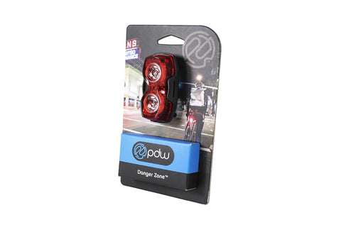 PDW Danger Zone Bicycle Tail Light