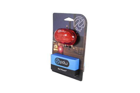 PDW Red Planet Bicycle Tail Light