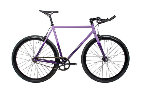 Purple Fixed Gear Bike