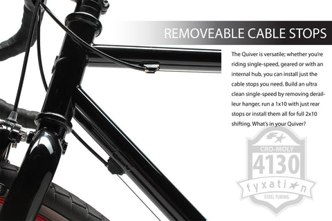 Removable Cable Stops