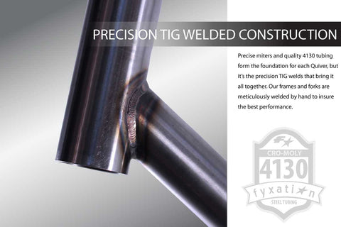 Precision Bicycle Welds