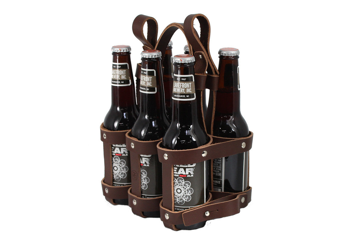Fyxation leather bicycle six pack caddy fyxation leather bicycle six pack caddy pronofoot35fo Images