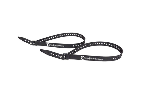 "Revelate Designs Washboard Utility Strap 2-Pack: 25"", Black"