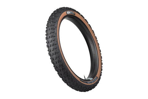 45NRTH VanHelga 27.5x4.0 Fat Bike Tire 60 TPI - Tan Sidewall