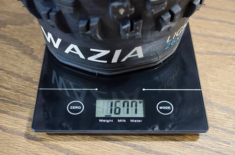 Terrene Wazia Fat Bike Tire Weight