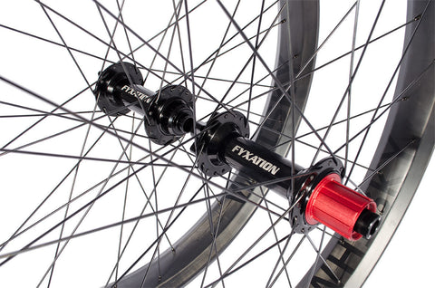 Fyxation Blackhawk Hubs x  Whisky Carbon 27.5+Wheelset